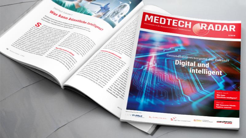 Der Titel vom Magazin Medtech Radar