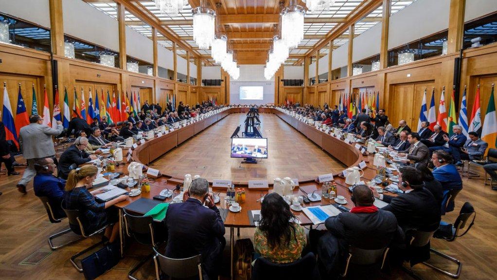 Die Berliner Agrarministerkonferenz bildete 2019 den politischen Höhepunkt des GFFA.