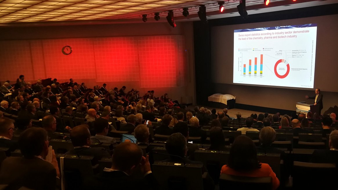 Presentation of the Swiss Biotech Report at the SBD 2019